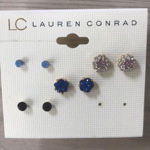 Lauren Conrad set of earrings